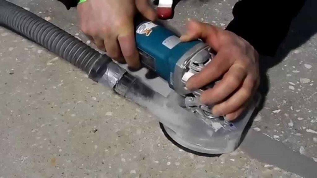 шлифование бетонного пола своими руками
