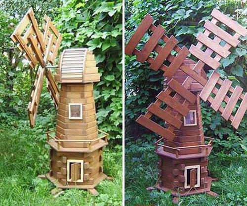 Мельница в сад своими руками пошаговая инструкция 68