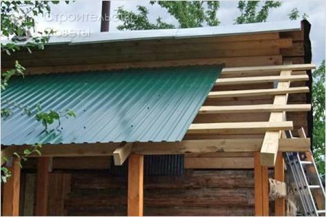 Как пристроить веранду к дому - пристройка веранды (+фото)