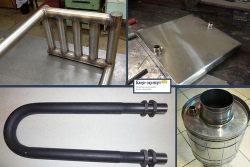 Трубчатый теплообменник для бани Уплотнения теплообменника Теплохит ТИ 44 Рязань