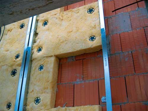 Металлическая сетка штукатурка для фасада