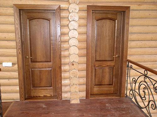Модели дверей из массива дерева